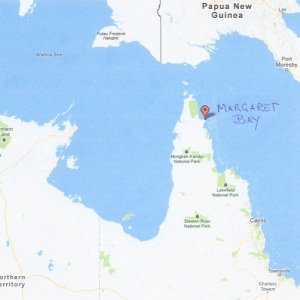 Map of Margaret Bay