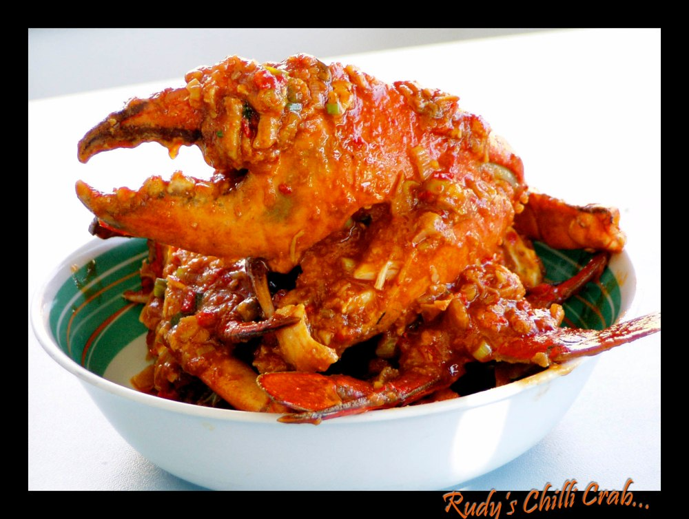 Rudy's Chilli Mud Crab..