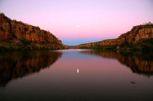 Moon rise on the Berkley River